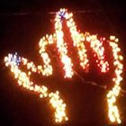 middle finger lanterns